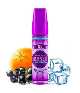 E liquide Black Orange Crush Ice 0% Sucralose Dinner Lady 50ml