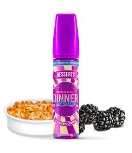 E liquide Blackberry Crumble 0% Sucralose Dinner Lady 50ml
