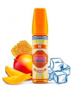 E liquide Sun Tan Mango Ice 0% Sucralose Dinner Lady 50ml