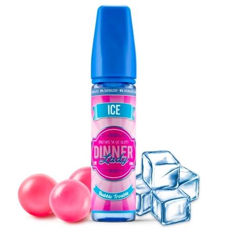 E liquide Bubble Trouble Ice 0% Sucralose Dinner Lady 50ml