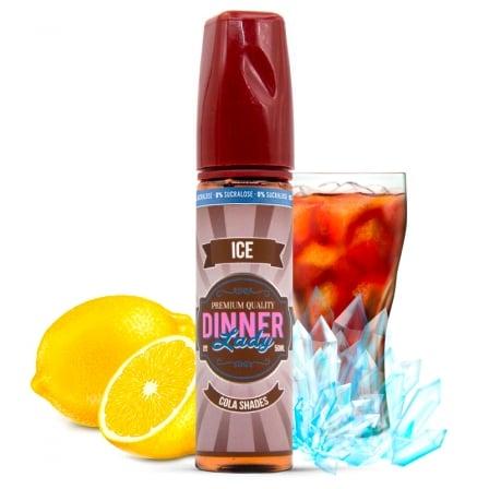 E liquide Cola Shades Ice 0% Sucralose Dinner Lady 50ml