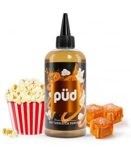 E liquide Butterscotch Popcorn Püd 50ml / 200ml