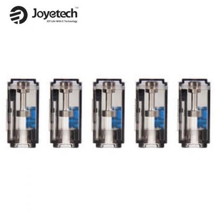 Cartouches Vides EZ Exceed Grip Pro 2.6ml Joyetech (X5) | POD Vides EZ Exceed Grip Pro