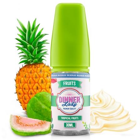 Concentré Tropical Fruits 0% Sucralose Dinner Lady Arome DIY