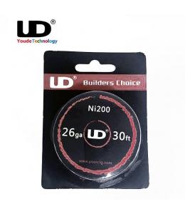 Bobine 10 mètres fil non résistif Nickel Ni200 0.40 mm UD