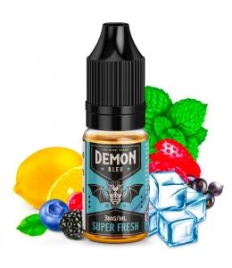 E liquide Bleu Super Fresh Demon Juice | Fruits rouges Baies Citron Menthe Frais