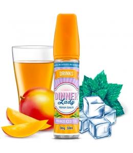 E liquide Mango Iced Tea 0% Sucralose Dinner Lady 50ml