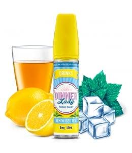 E liquide Lemon Iced Tea 0% Sucralose Dinner Lady 50ml