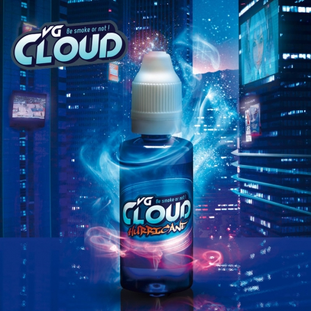E-liquide Hurricane VG Cloud