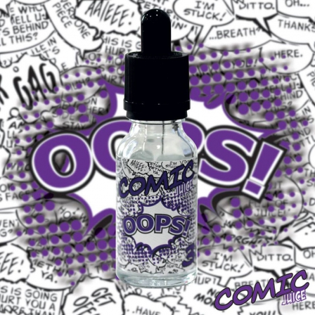 E-liquide OOPS Comic Juice
