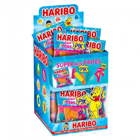 Bonbons Frites Haribo