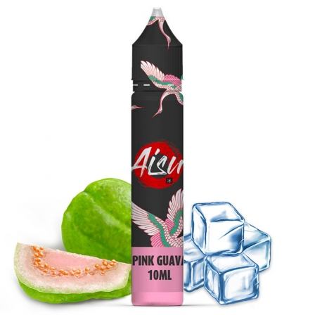 E liquide Pink Guava 0% Sucralose Sels de nicotine Aisu | Sel de Nicotine