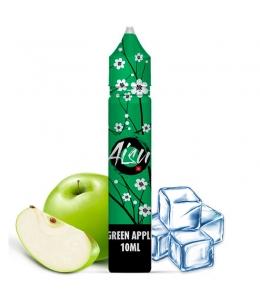 E liquide Green Apple 0% Sucralose Sels de nicotine Aisu | Sel de Nicotine