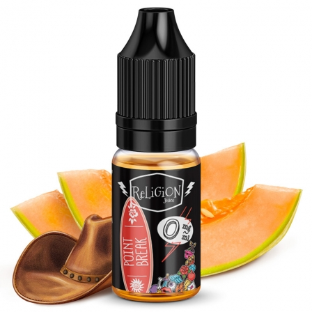 E liquide Point Break Religion Juice | Tabac blond Melon