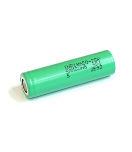 Accu 18650 Samsung 2500 mAh INR 25R
