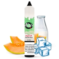 E liquide Melon Milk 0% Sucralose Aisu   Melon Lait Frais