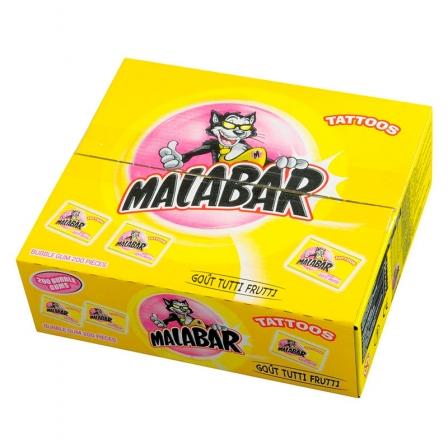 Bonbons Malabar Tutti Frutti Carambar&Co (Boîte de 200)