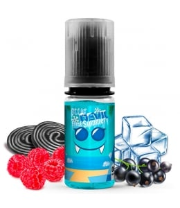 E liquide Blue Devil Avap | Framboise bleue Cassis Réglisse Frais