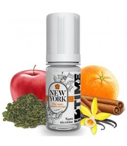 E liquide New York D'time D'LICE | Thé noir Orange Pomme Vanille Cannelle
