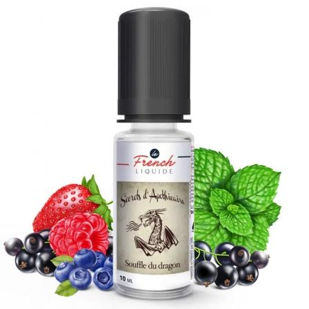 E liquide Souffle du Dragon Le French Liquide | Fruits rouges Cassis Menthe fraîche