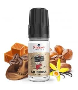 E liquide La Chose Blend Le French Liquide | Caramel Noisette Café Noix de pécan Vanille Tabac