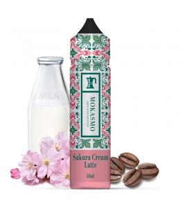 E liquide Sakura Cream Latte Mokasmo Aisu 50ml