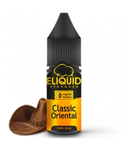 E liquide Classic Oriental eLiquid France | Tabac