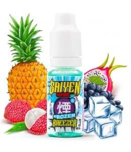 E liquide Frozen Breezer Saiyen Vapors | Fruit du dragon Litchi Raisin Ananas Frais