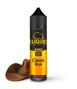 E liquide Classic Brun eLiquid France 50ml