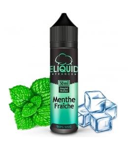 E liquide Menthe Fraîche eLiquid France 50ml