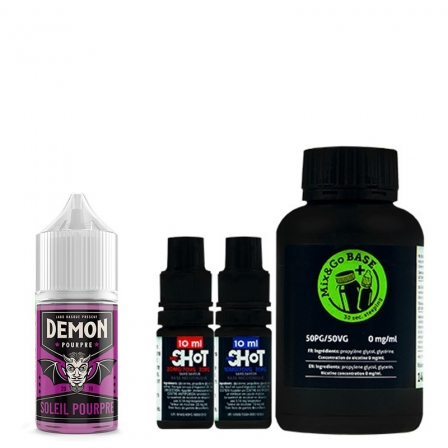 Pack DIY Pourpre Demon Juice