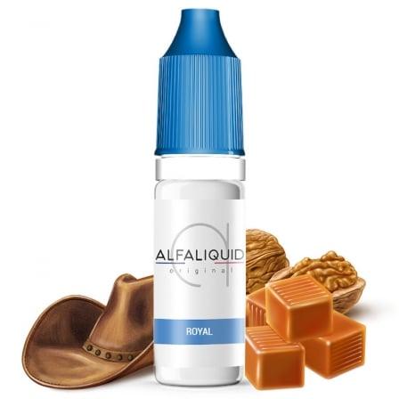 E liquide Classic Royal Alfaliquid | Tabac blond Noix Caramel