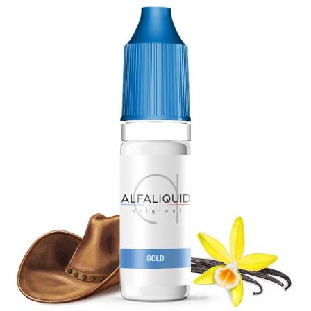 E liquide Classic Gold Alfaliquid | Tabac blond Vanille