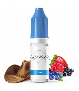 E liquide FR-M Alfaliquid | Tabac blond Fruits rouges