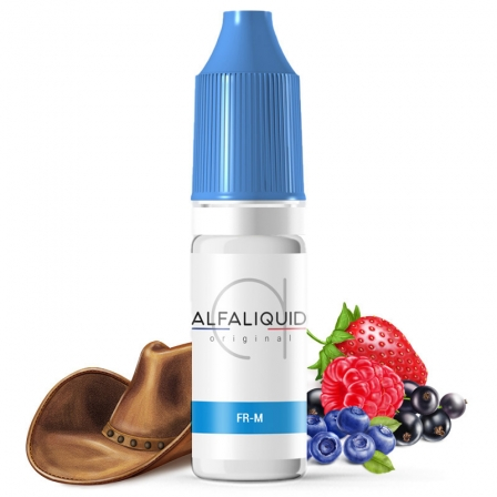 E liquide FR-M Alfaliquid | Tabac blond Fruits rouges
