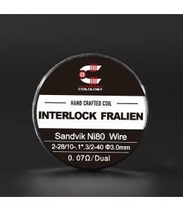 Pack 2 Handcrafted Interlock Fralien Coilology