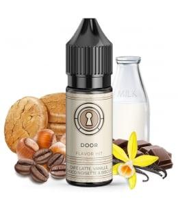 E liquide Secret Door Flavor Hit | Café Lait Vanille Chocolat Noisette Biscuit
