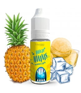 E liquide Mananas Freeze Liquideo | Sorbet Ananas Frais