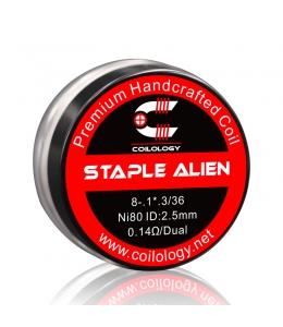 Pack 2 Handcrafted Staple Alien Coilology