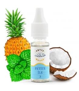 E liquide Petite Île Petit Nuage | Noix de coco Ananas Menthe verte