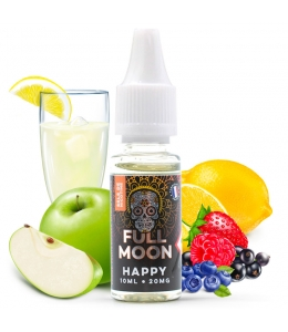 E liquide Happy Salt Full Moon   Sel de Nicotine
