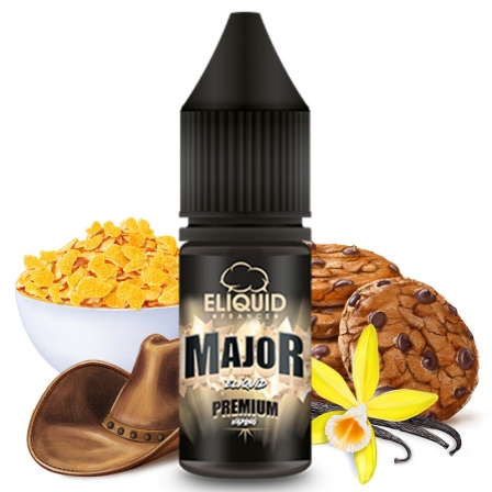 E liquide Le Major eLiquid France | Céréales Sucre Tabac Vanille Cookie