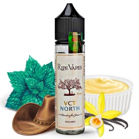 E liquide VCT North Ripe Vapes 50ml