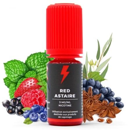 E liquide Red Astaire T-Juice   Fruits rouges Raisin noir Eucalyptus Anis Menthe