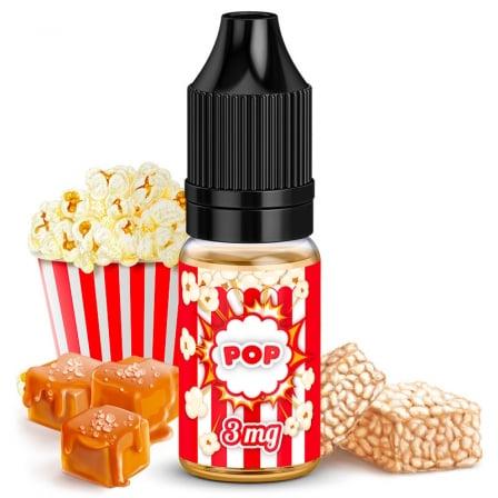 E liquide Pop King Size   Pop Corn Caramel Riz soufflé