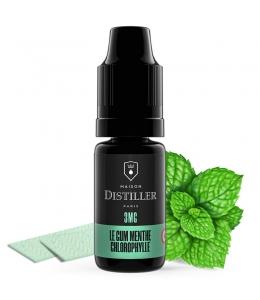 E liquide Le Gum Menthe Chlorophylle Maison Distiller | Chewing gum Chlorophylle Menthe