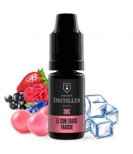 E liquide Le Gum Fraise Fraîche Maison Distiller | Chewing gum Fraise Fraise des bois
