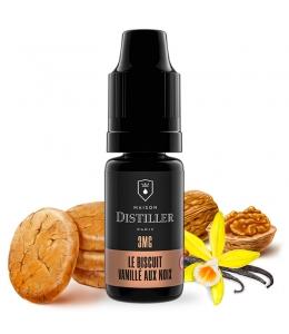 E liquide Le Biscuit Vanillé Aux Noix Maison Distiller | Cookie Vanille Fruits à coque
