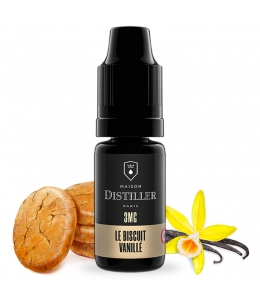 E liquide Le Biscuit Vanillé Maison Distiller | Cookie Vanille