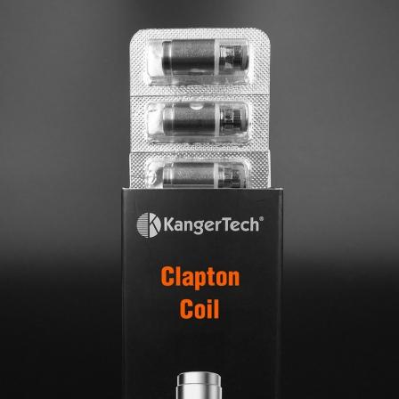 Pack 5 Résistances / mèches Clapton SSOCC pour Subtank, Toptank, Nebox - Kanger Tech